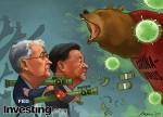 CHARGE: Mercados globais sacudidos com forte aumento nos casos de coronavírus