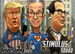 Comic: Wall Street Posts 4th Weekly Gain In Last 5 Weeks On More Stimulus Hopes