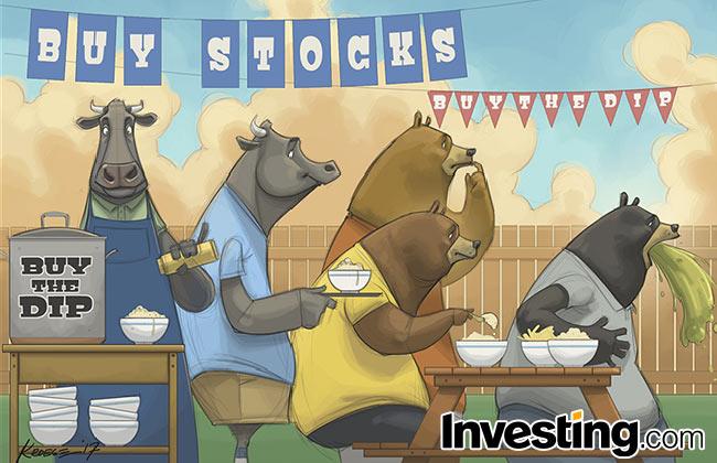 Wöchentlicher Comic: Bären werden krank, Bullen stürzen sich auf Dips