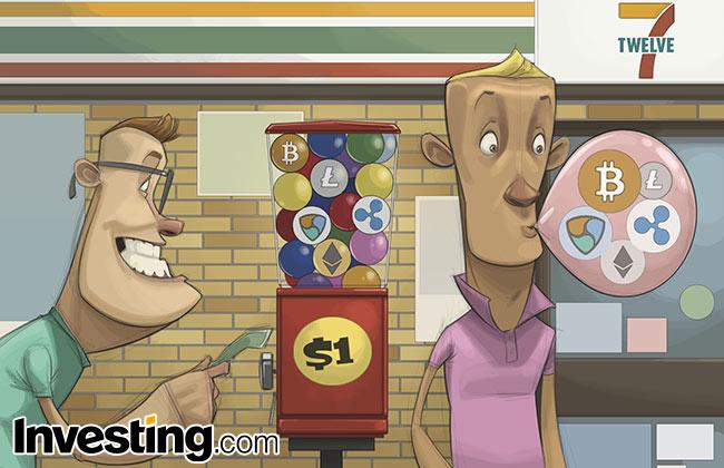 Weekly Comic: Erster Schuss vor den Bug für Kryptowährungen