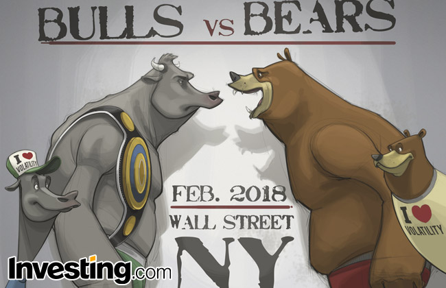 Image result for VOLATILITY is back.on Wall Street