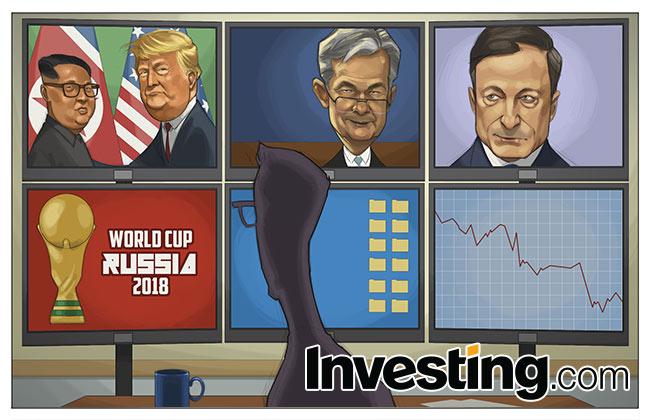 Nuestro cómic: La reunión Trump/Kim, la Fed, el BCE y el Mundial, ¡menuda semana!