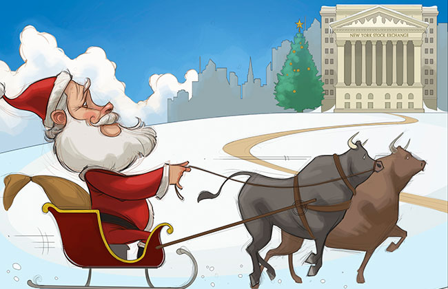Weekly Comic: Is a Santa Claus Rally Coming to Wall Street?