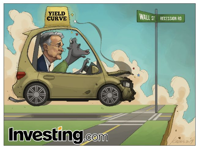 Comic: Powell and the Fed Inadvertently Spark Recession Fears as Yield Curve Inverts