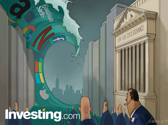 Comic: Markets Brace for Earnings Tsunami As S&P Inches Closer to Record Highs