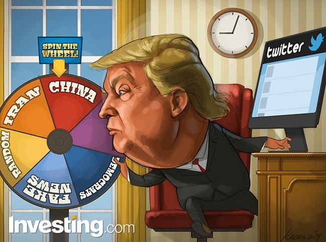 BD: Les derniers tweets de Trump provoquent une plus grande volatilité des marchés