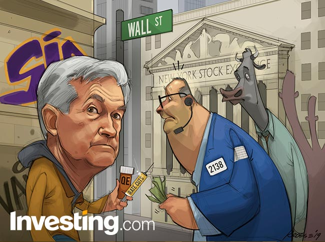 Comic: Addicted Markets Beg Powell For More Fed Rate Cuts As S&P ...