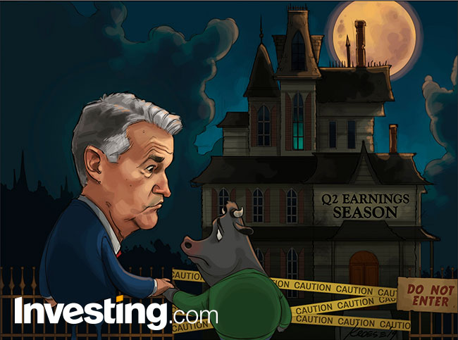Comic: Will A Bad Earnings Season Spoil The Fed's Rate Cut Party?