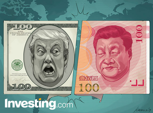 Comic: Markets Fear U.S.-China Trade War Could Morph Into Full-Blown C