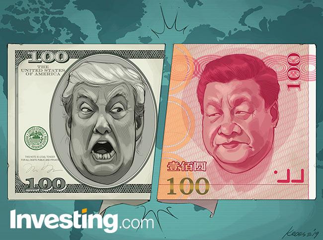 Amerikaanse handelsoorlog met China: markten vrezen een valutaoorlog