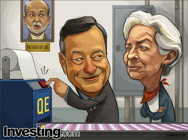 Comique : BCE draghi Lagarde
