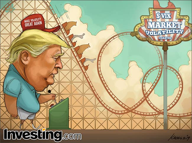 Weekly Comic: Trump's Trade War Headlines Take Markets On Wild Ride By