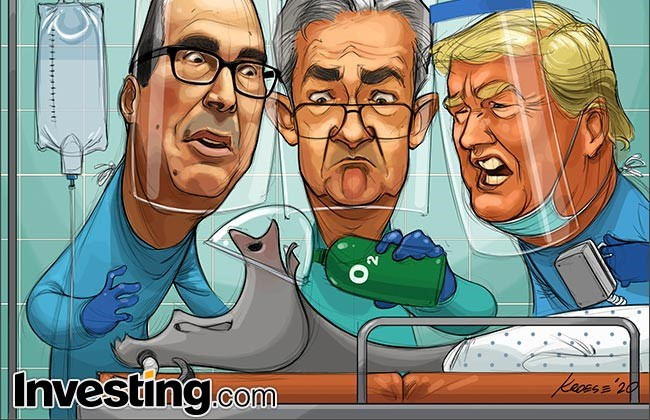 Comic: Stocks Jump As White House, Fed Stimulus Sparks Rally By ...