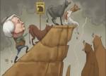 Onze strip: Beursremonte vertoont barsten nu Yellen en de bulls moe worden