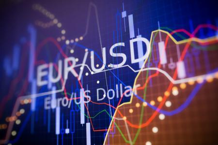 Forex - EUR/USD omlaag aan het einde van Europese sessie