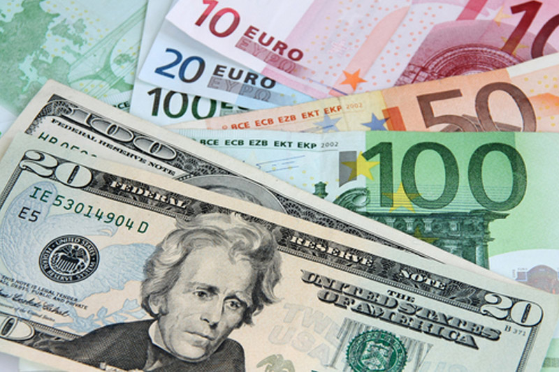 The euro edged above 1.06 on Thursday against the U.S. dollar