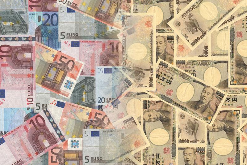 Форекс - Курс EUR/JPY вырос во время азиатских торгов