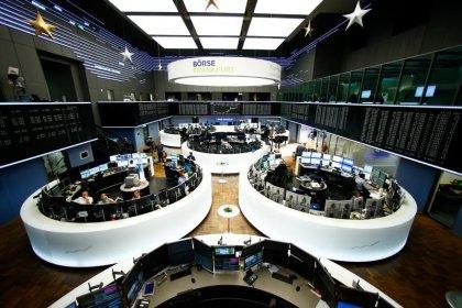 European shares buoyed by oil rally; Lonza slumps