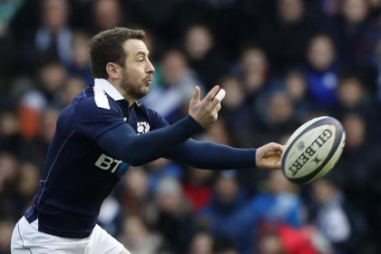 Scotland captain Laidlaw to miss rest of Six Nations