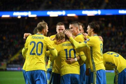 Forsberg anota doblete en goleada 4-0 de Suecia ante Bielorrusia por eliminatorias europeas