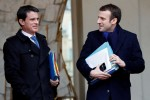 French ex-PM Valls says will vote for Macron in election