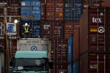 Japan April exports rise again, trade surplus with U.S. narrows