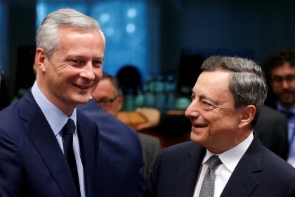 Euro zone ministers eye Greek debt deal with IMF, new loans decision in June