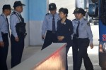 South Korea's ex-leader Park abused power to gain bribes, prosecutor tells court