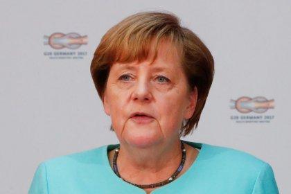 Merkel's CDU, pro-business liberals gain ground in poll