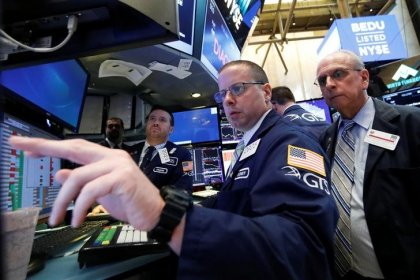 Wall St. higher at open; Fed minutes awaited