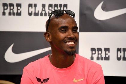 Farah runs year's fastest 5,000m in Oregon