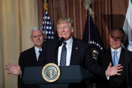 Trump tells 'confidants' U.S. will leave Paris climate deal: Axios