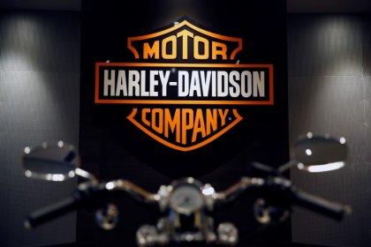Harley-Davidson cuts shipments forecast; shares skid