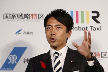 "Spotlight on Japan's ""Macron"", son of former premier Koizumi, ahead of cabinet reshuffle"