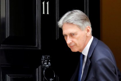 Hammond told Goldman Sachs he wants long Brexit transition - source