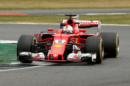 Slow puncture caused Vettel's Silverstone blowout