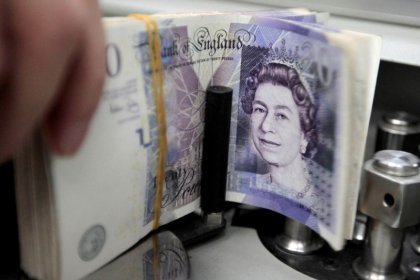 Sterling to fall 15 percent on slowing UK growth, BoE inaction: Voya