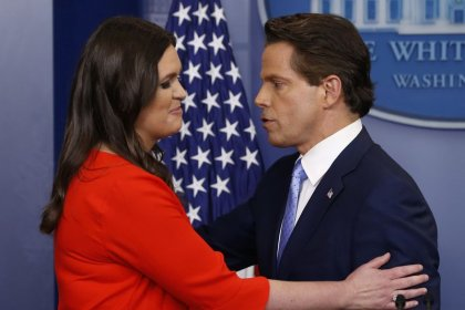 Spicer out, Scaramucci in as Trump seeks to fix image