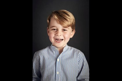 New portrait released as Prince George celebrates fourth birthday