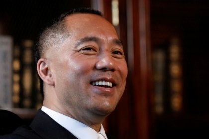 Chinese government official sues exiled tycoon Guo for defamation