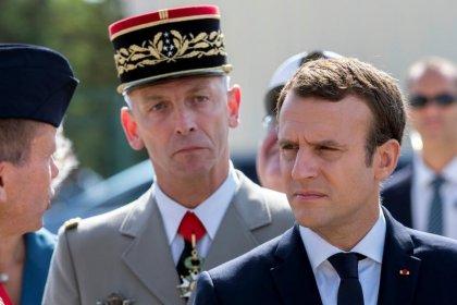 Cae la popularidad del presidente francés Macron