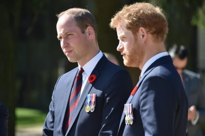Los príncipes Guillermo y Enrique lamentan su última conversación con Diana