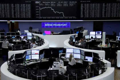 Autos and energy firms boost European shares as earnings roll in, banks held back
