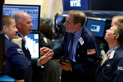 Strong earnings power Wall Street to record; Fed awaited