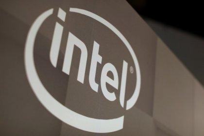 Intel's quarterly beat, raised forecasts send shares higher