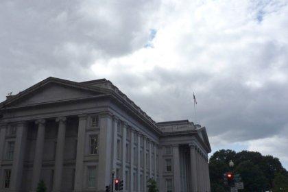 U.S. Treasury posts $43 billion deficit in July
