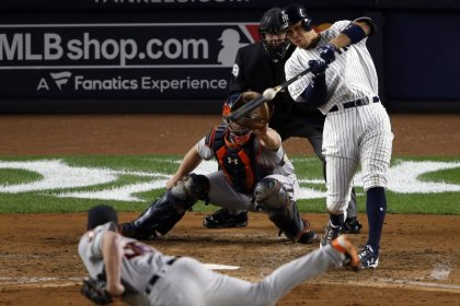 Judge gets Yankees back in ALCS in 8-1 rout