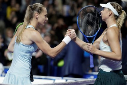 Sharapova out, Gavrilova through to second round of Kremlin Cup