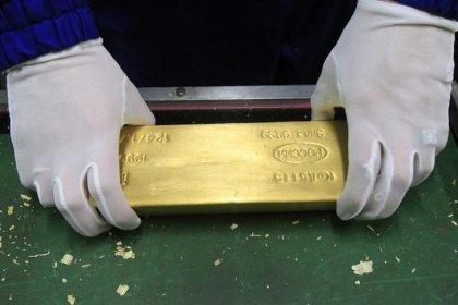 ЦБР сообщил, что с 1 ноября начнет покупать золото на Московской бирже