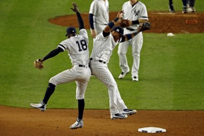 Highlights of MLB playoff games on Wednesday